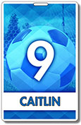 Generic Blue Soccer tag